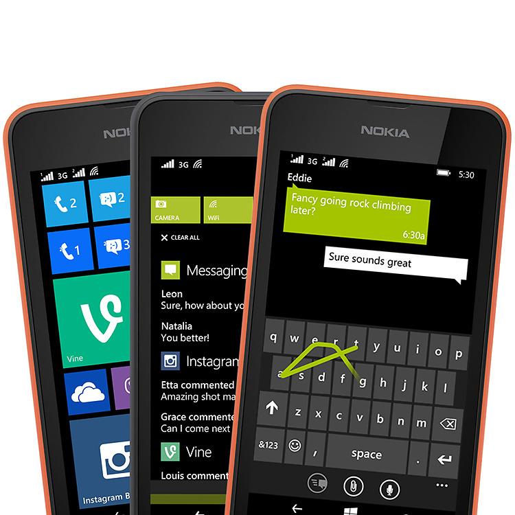 Nokia Lumia 530 Dual SIM Latest Windows Phone features