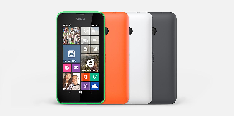 Nokia Lumia 530 hero 2