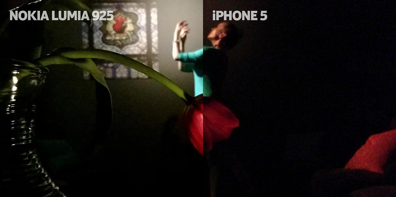 Foto-foto Lumia 925 vs Foto-foto iPhone 5