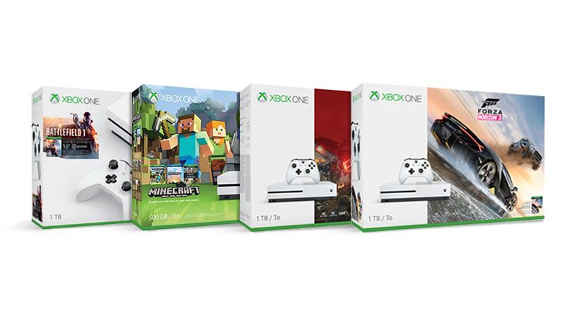 Save 25% on Xbox One S bundles
