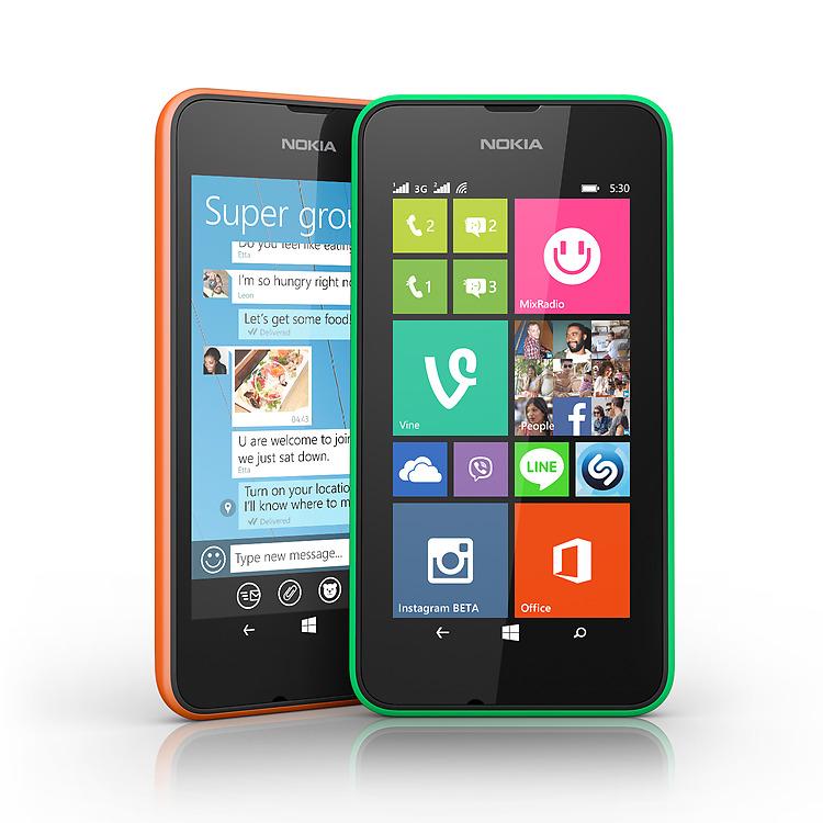 Nokia Lumia 530 Dual SIM apps