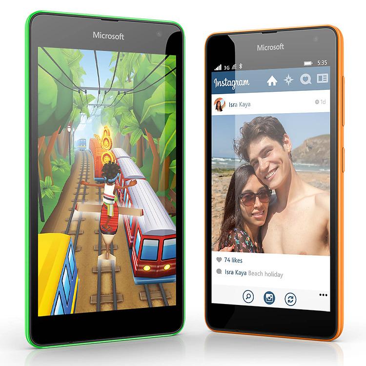 Microsoft Lumia 535 apps