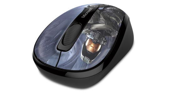 Wireless Mobile Mouse 3500 Halo Limited Edition : The Master Chief
