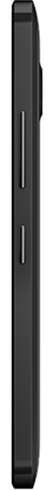 Side view of Black Lumia 640 XL