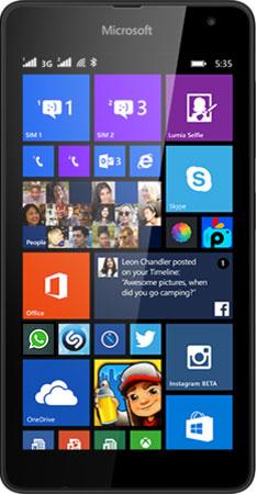Lumia 535 Black