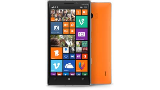 Lumia 930 Orange