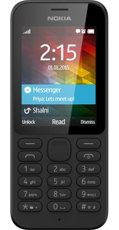 Nokia NOKIA-215-SPECS-FRONT-BLACK