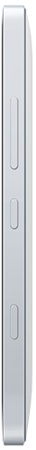 Side view of white Lumia Icon
