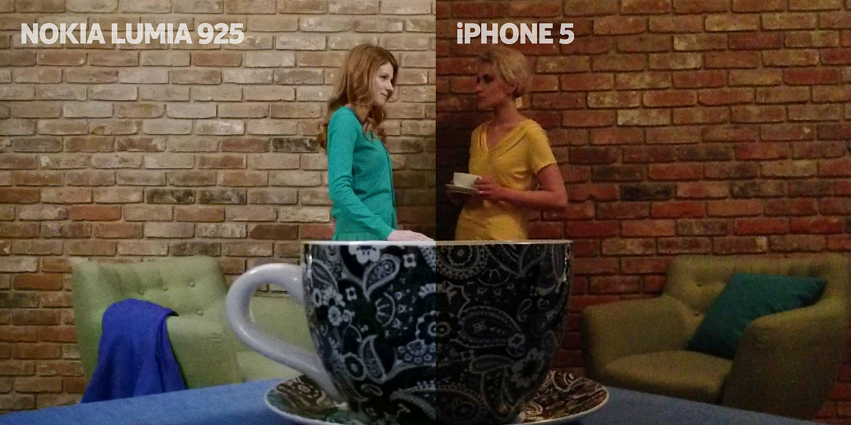 Kamera Lumia 925 vs Kamera iPhone 5