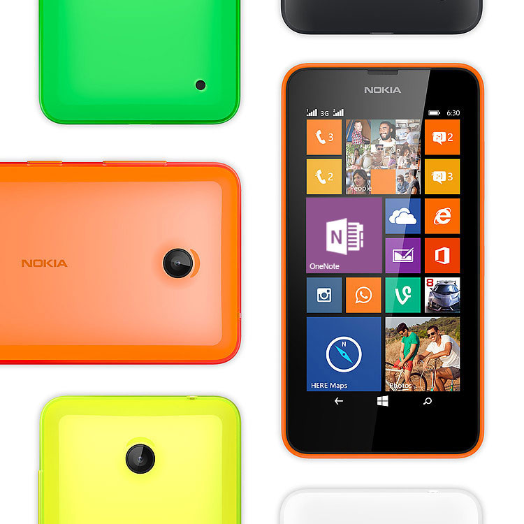 Nokia Lumia 630 Dual SIM Colours