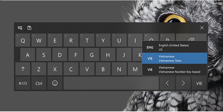 Vietnamese Quest on VIE touch keyboard (Hãy thử gõ tiếng Việt với bộ gõ Telex và Number-key based mới trên bàn phím ảo nào!)