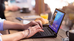 Microsoft Surface en uso