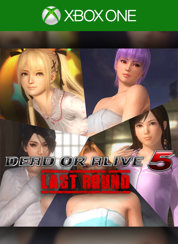 DEAD OR ALIVE 5 Last Round Bath & Bedtime Costumes