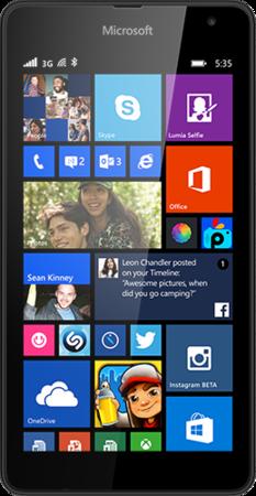 Lumia 535 SS Black