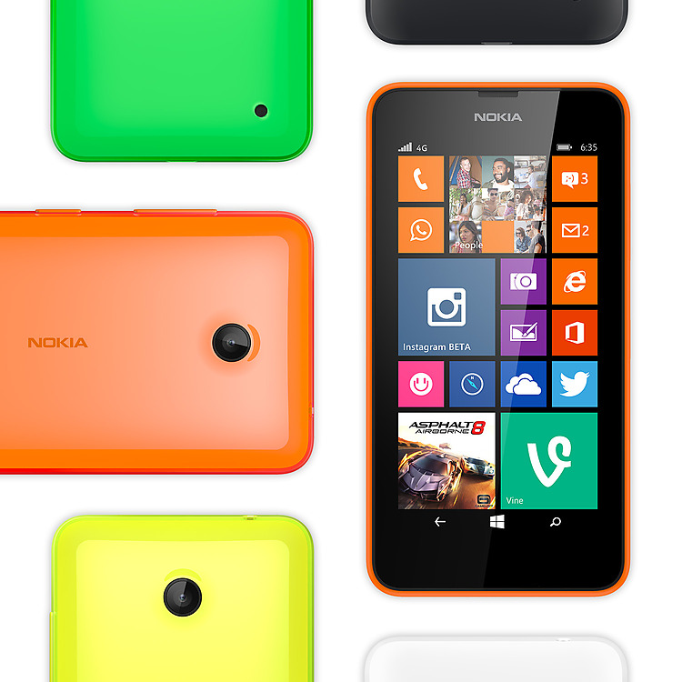 Lumia 635 personnalisable