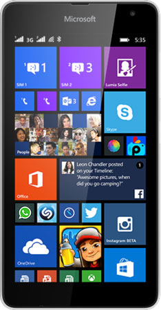 Lumia 535 DS White