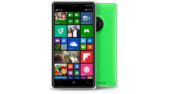 Lumia 830 Green