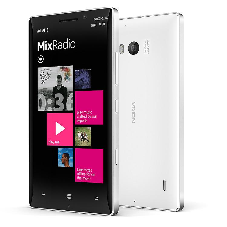 Nokia Lumia 930 Nokia MixRadio