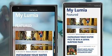 Aplicaţii pentru telefoanele Lumia - My Lumia