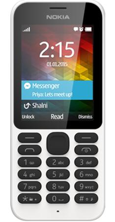 Nokia NOKIA-215-SPECS-FRONT-WHITE