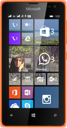 Nokia LUMIA-532-DSIM-SPECS-ORANGE