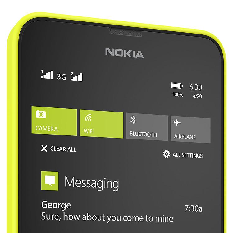 Nokia Lumia 630 Dual SIM - Smart Dual SIM