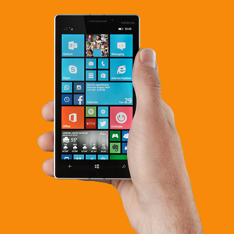 Nokia Lumia 530 Dual SIM – Neueste Windows Phone-Funktionen