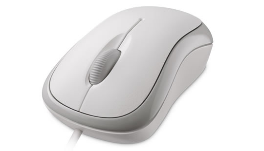 Microsoft Basic Optical Mouse in gray