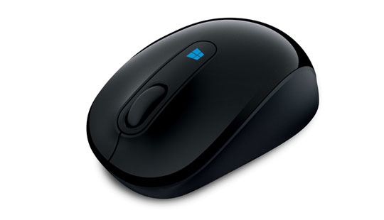 Microsoft Sculpt Mobile Mouse in Black