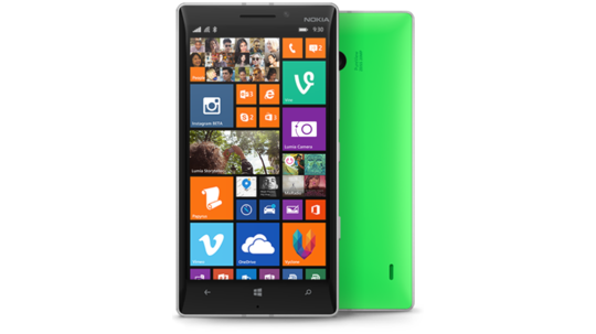 Lumia 930 grønn