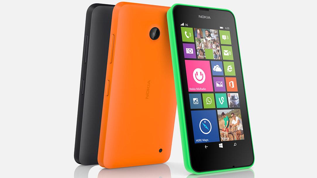 Nokia Lumia 630 smartphone