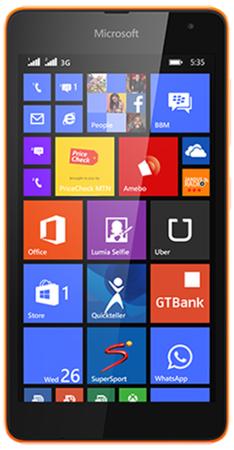 Lumia 535 DS Orange