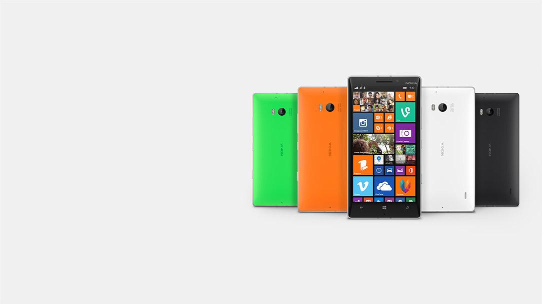 Variantes del Nokia Lumia 930