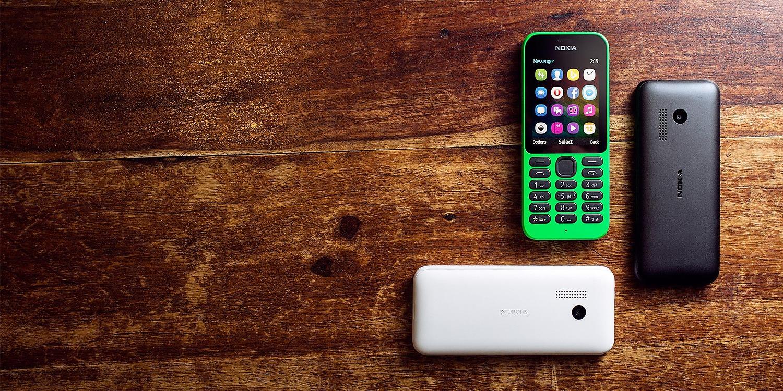 Nokia 215 Dual SIM Colors
