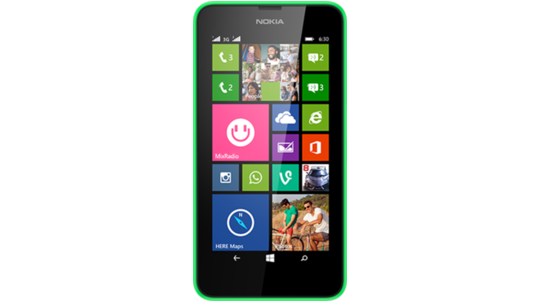 LUMIA 630 DS FRONT
