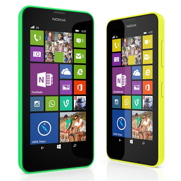 Nokia Lumia 630 – Apps