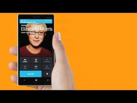Entdecke Lumia: Anrufe tätigen und beantworten