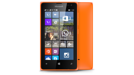 Nokia LUMIA-532-DSIM-CATALOGUE-ORANGE