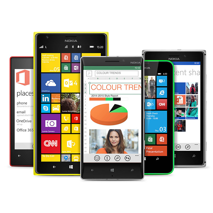 Dispositivos Lumia