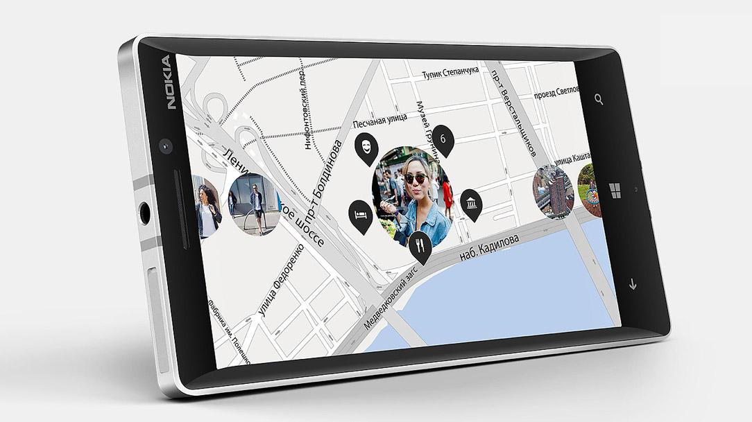 Nokia Lumia 930 screen
