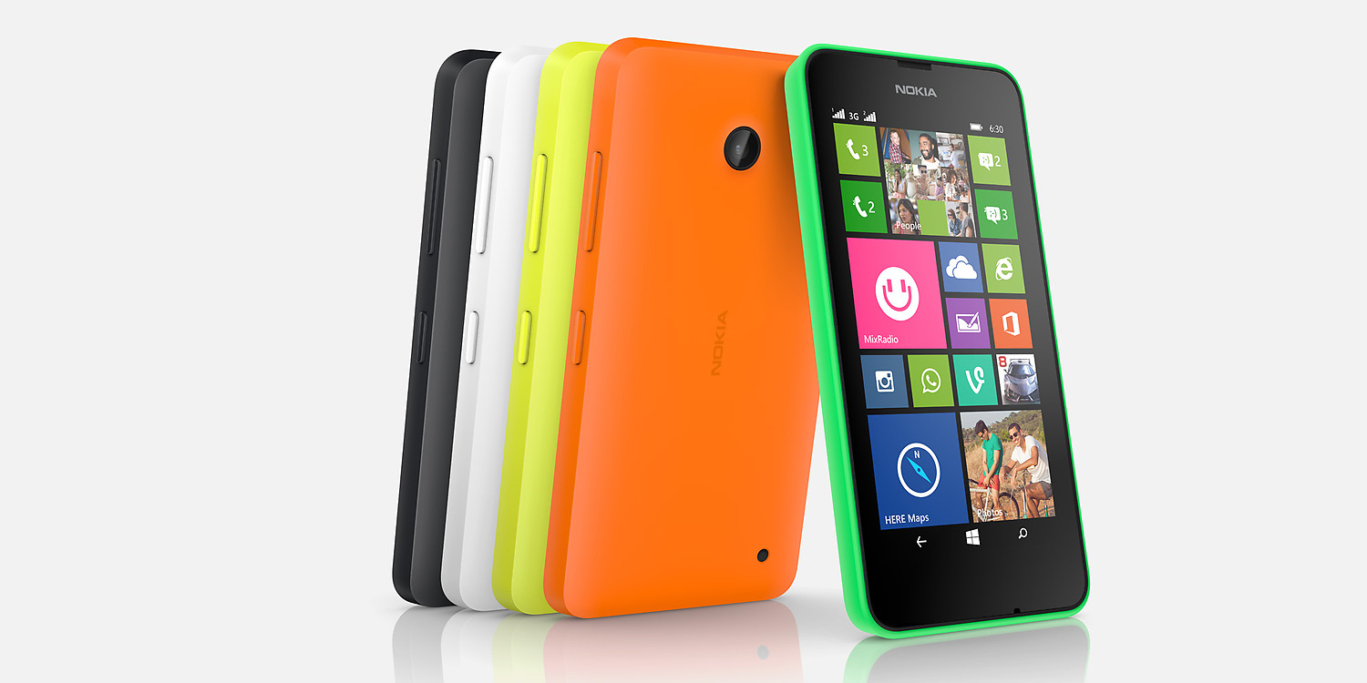 Nokia Lumia 630 con doble SIM hero