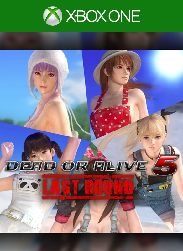 DEAD OR ALIVE 5 Last Round Overalls Set