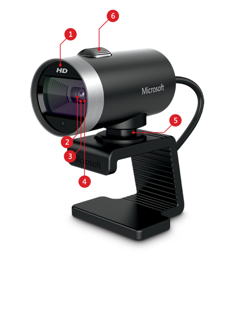 LifeCam Cinema product features