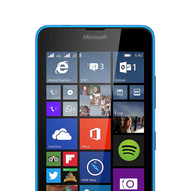 Microsoft lumia 640 lte double sim smartphones microsoft for Photo ecran lumia 640
