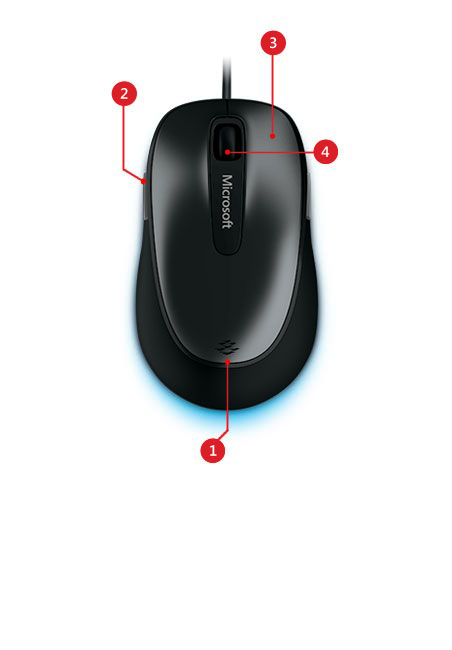 Comfort mouse 4500 features