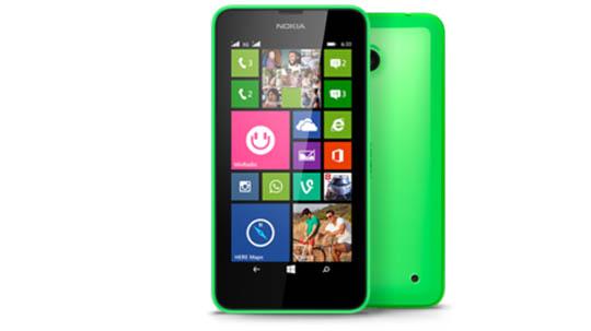 Lumia 630 Hai SIM Xanh lá