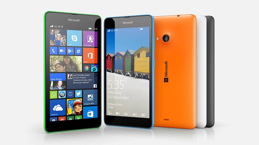 Lumia-535-green