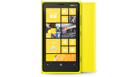 Lumia 920 amarillo