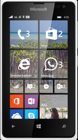 Lumia 435 white