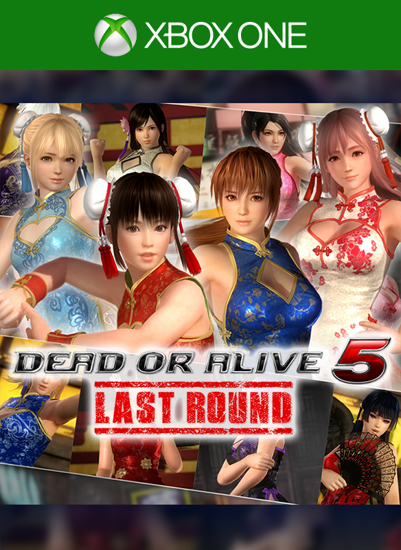 DOA5LR Alluring Mandarin Dress Set